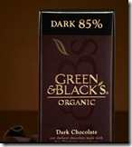 Black and Gold Chocolate