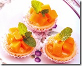 mango-and-coconut-tartlets