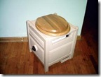 Sawdust toilet