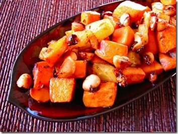 Sweet Potatoes with Pineapple Chutney