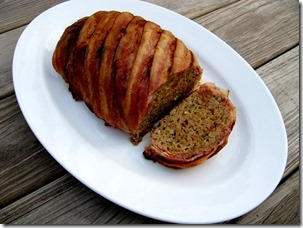 Bacon Wrapped Meat Loaf 1