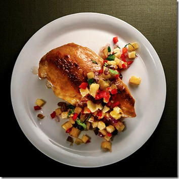 Hawaiian Glazed Chicken with Pineapple Salsa 1