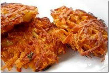 Sweet Potato Latkes 1