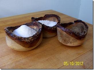 Burled Wood Bowls