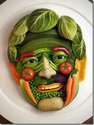 Veggie Face Man