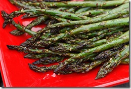 Grilled Chinese Asparagus