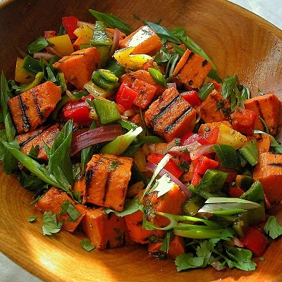 Asian Sweet Potato Salad   Beyond Paleo by Millie Barnes