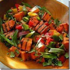 Asian Sweet Potato Salad