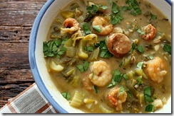 Shrimp and Fall Greens Gumbo   edit