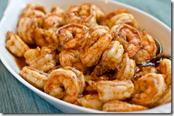 Ginger Garlic and Chili Shrimp