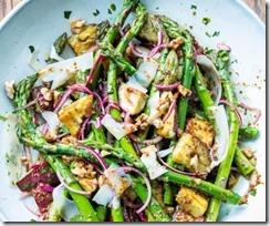 Asparagus Walnut Salad