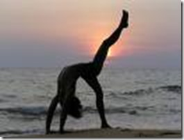 yoga on beach 2