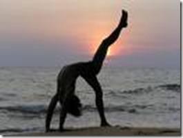 yoga on beach 2