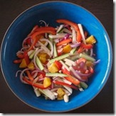 Jicama and Roasted Red Pepper Salad