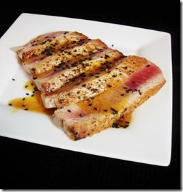Miso Glazed Tuna